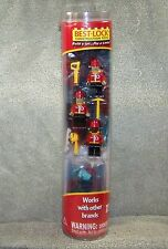 BEST-LOCK BUILDING SET FIREFIGHTER VEHICLE WITH THREE FIGURES