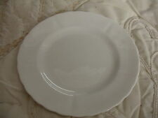 C4 Porcelain Tuscan China Plant White Side Plate 18cm 7E2C