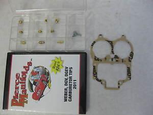 JEEP  32/36 DGEV WEBER E-CHOKE JET KIT JEEP 258 CID W/ TUNING DVD K551  KIT