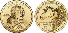 2012- P  NATIVE AMERICAN  GOLDEN DOLLAR COIN