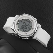 Women's Fashion Sport 5ATM Waterproof Wristwatch Alarm LED Digital Watch