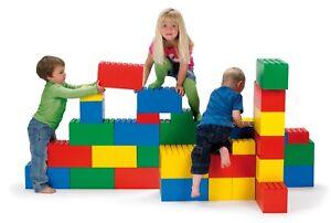 KIDS CHILDRENS INDOOR OUTDOOR GARDEN BUILDING BLOCKS by DANTOY large play bricks