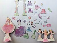"Barbie Magnetic ""Paper"" Dolls Playset 33 pieces"
