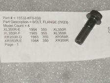 1983-1985 Honda XR350R XL350R XL XR 350 Oil Pipe/Line Bolt OEM NOS 15532-KF0-000