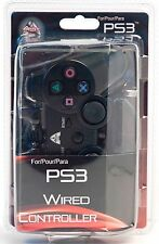 ARSENAL Wired USB Game Controller For Sony PS3  black in original box