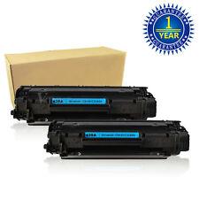 2 PK CB435A 35A Black Toner Cartridges For HP LaserJet P1002 P1003 P1005 P1006