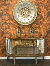 Handpainted/ Handmade Butterfly: Gradient Wooden Vase