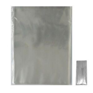 CLEAR CELLOPHANE - LOLLIPOP BAGS - / DISPLAY BAGS / COOKIES / SWEETS