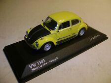 MINICHAMPS 1:43 VW 1303 WORLD CUP 1974 NEUF/BOITE D'ORIGINE