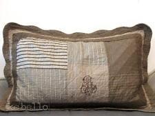 Kissenhülle Monogramm beige 50x80  NEU Shabby Patchwork