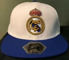 Real Madrid Fi Collection White And Blue Fitted Hat - Size 7 5/8 NWT
