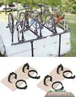 ProRac 4 Four Bike Bicycle Carrier Rack PopUp Tent Trailer Camper with Tire Pads