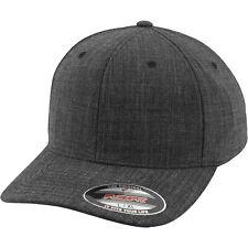 Flexfit Fine Melange Flexfit Cap Unisex Baseballcappe Herren FX6277 NEU