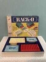 RACK-O CARD GAME ~ Vintage 1966 Milton Bradley Racko Card Game ~ 100% Complete
