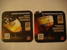 Beer Bar Coaster ~ HET ANKER Gouden Carolus Tripel ~ WBA Award World's Best Dark