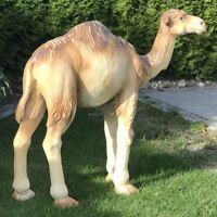 KAMEL DROMEDAR 90 cm Garten Deko Tier Figur Skulptur Statue AFRIKA ASIEN CAMEL