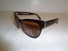 Raen Optics BRESLIN Brown White Pin Stripe Sunglasses New Unisex Eyewear
