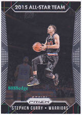 2015-16 PANINI PRIZM ALL-STAR TEAM: STEPHEN CURRY #364 WARRIORS 2 TIMES MVP