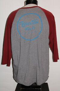BRIXTON Mens XL X-Large 1/2 sleeve T shirt Combine ship Discount