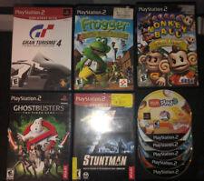 Sony PlayStation 2 Ps2 Video Games Lot Of 10 - Gran Turismo 4 Lego Batman Shadow