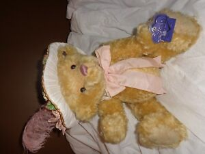 COLLECTABLE ANNETTE FUNICELLO MOHAIR BEAR EMILY