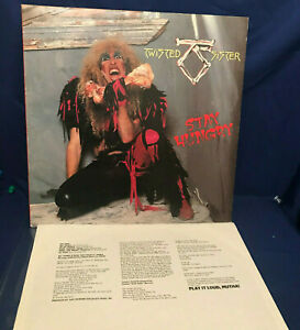 Twisted Sister Stay Hungry 1984 Original Vinyl LP