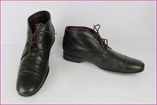 KOST Chaussures à Lacets Boots Paris Cuir Noir T 41 TBE