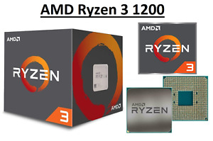 AMD Ryzen 3 1200 Quad Core ''Summit Ridge'' 3.1 - 3.4 GHz, AM4, 65W CPU Only