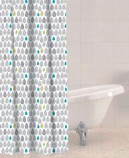 Sabichi Plastic Modern Shower Curtains