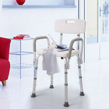 Bathtub Bench Adjustable Medical Shower Chair Bath Seat Stool With Armrest Back