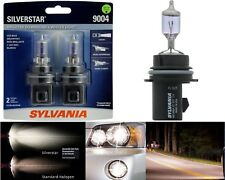 Sylvania Silverstar 9004 HB1 65/45W Two Bulbs Head Light High Low Beam Lamp