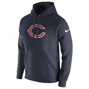 Chicago Bears Men/'s gradient casual zipper cardigan mode sport Hoodie TJRT7REUYA