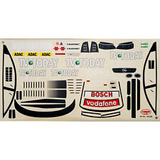 Decal Sheets 1:10 Vauxhall Astra V8 TV TODAY Angle Hock no. 8 DTM 2002 Carson