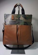 Coach Charles Green Camouflage Foldover Tote in Printed Coated Canvas F72357