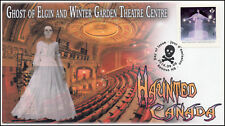 CA16-034, 2016, FDC, Haunted Canada, Day of Issue, Ghost of Elgin and Winter