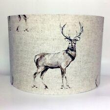 Stag Light Shade Fryetts Glencoe Fabric Ceiling or Lamp Shade