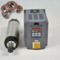 【EU】1.5KW ER11 Water Cooled Spindle Motor+VSD 1.5KW Inverter Frequency Drive VFD