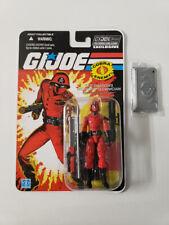 GI Joe RED LASER w/ Correct Base Technician Club Exclusive 8-02 FSS Hasbro New