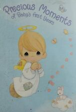 Unused Vntg 2000 Precious Moments Baby's 1st Years Memory Book W/Plastic Cover