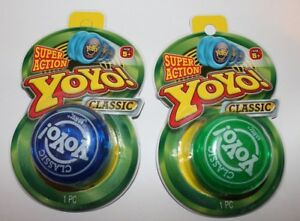 New Classic Yo-Yo Retro Style Toy - Great Stocking Stuffer Gifts or Party Games