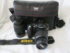 Nikon D50 DSLR Camera with AF-S 18-55mm & 55-200mm lens Kit (Cased)