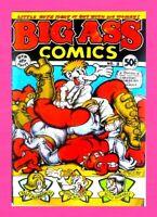BIG ASS COMICS #2, 2nd PRINTING, 1971, RIP OFF PRESS, UNDERGROUND COMIC