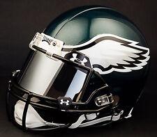 PHILADELPHIA EAGLES NFL Authentic GAMEDAY Football Helmet w/ MIRROR Eye Shield
