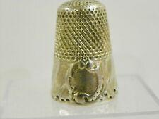 Dé à coudre Ancien en argent /antiqueThimble silver/Fingerhut silber