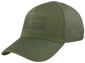 Condor Flex Fit Cap Hat - Olive - Large - 161080-001-L - New