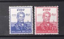 IRELAND # 161-162.  ADMIRAL WILLIAM BROWN. MNH