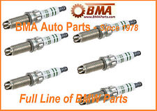 BMW SPARK PLUG SET OF 6 BOSCH E60 535i E90 335i F02 740Li E89 Z4 NEW ZGR6STE2
