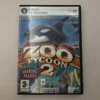 Zoo Tycoon 2 Marine Mania | Complete Acceptable | Microsoft and Ubisoft PC Game