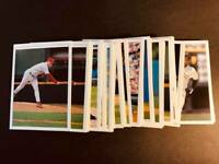 1997 Topps Gallery WHITE BORDER AND BLANK BACK MLB PROOFS You Pick Your Card