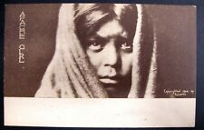 Native American Postcard - Apache girl  by Edward Curtis 1904 South West